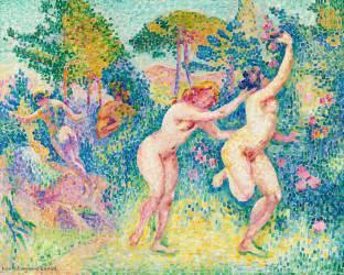 La fuite des nymphes (Henri-Edmond Cross) - Muzeo.com