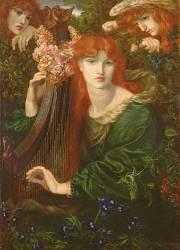 La Ghirlandata (Rossetti Dante Gabriel) - Muzeo.com