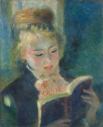 La liseuse (Renoir Auguste) - Muzeo.com