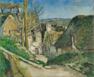 La maison du pendu, Auvers-sur-Oise (Cézanne Paul) - Muzeo.com