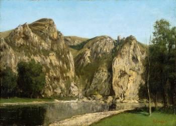 La Meuse à Freyr (Courbet Gustave) - Muzeo.com