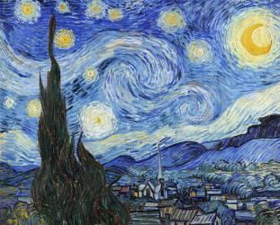 Starry Night (Vincent Van Gogh) - Muzeo.com