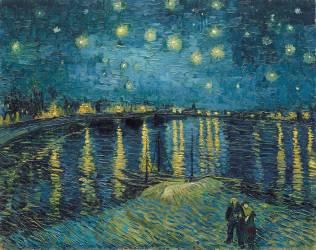 Starry Night over the Rhone (Van Gogh Vincent) - Muzeo.com