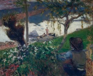 La rivière blanche (Gauguin Paul) - Muzeo.com