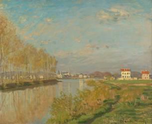 La Seine à Argenteuil (Monet Claude) - Muzeo.com