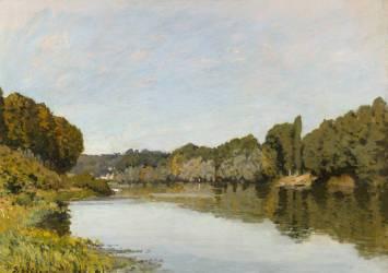 La Seine à Bougival (Sisley Alfred) - Muzeo.com
