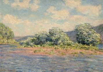 La Seine à Port-Villez (Yvelines) (Monet Claude) - Muzeo.com
