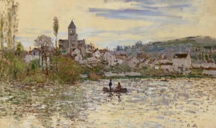 La Seine à Vétheuil (Monet Claude) - Muzeo.com