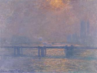 La Tamise à Charing-cross (Claude Monet) - Muzeo.com