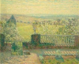 La terrasse (Le Sidaner Henri) - Muzeo.com