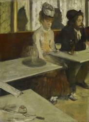 L'absinthe, dit aussi Dans un café (Degas Edgar) - Muzeo.com