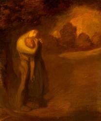 Le baiser (Théophile Alexandre Steinlen) - Muzeo.com