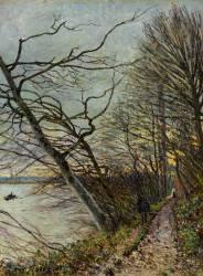 Le Bois de Roches, Veneux-Nadon (Sisley Alfred) - Muzeo.com