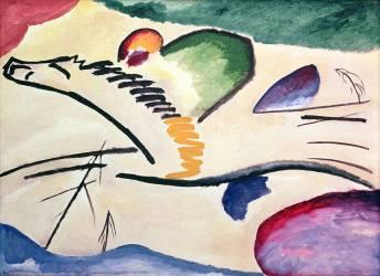 Lyrical (Wassily Kandinsky) - Muzeo.com