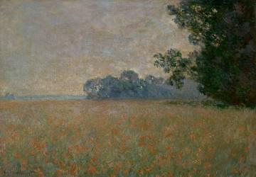 Le Champ d'avoine aux coquelicots (Monet Claude) - Muzeo.com