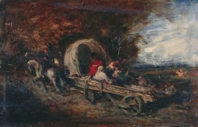 Le chariot (Ziem Félix) - Muzeo.com