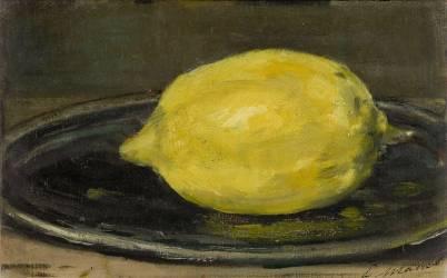 Le citron (Manet Edouard) - Muzeo.com