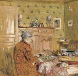 Le déjeuner du matin (Vuillard Edouard) - Muzeo.com