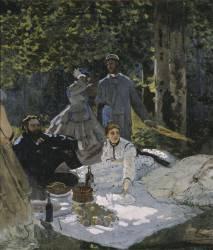 Le déjeuner sur l'herbe (Claude Monet) - Muzeo.com