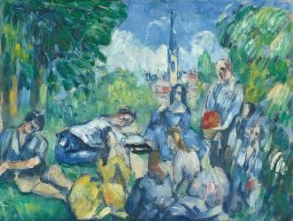 Le déjeuner sur l'herbe (Cézanne Paul) - Muzeo.com