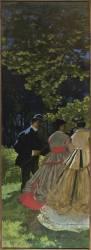 Le Déjeuner sur l'herbe, fragment (Monet Claude) - Muzeo.com