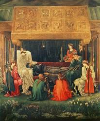The last sleep of Arthur in Avalon (Burne-Jones Edward) - Muzeo.com