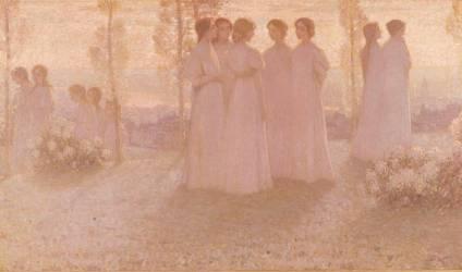Le dimanche (Henri Le Sidaner) - Muzeo.com