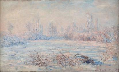 Le givre, près de Vétheuil (Monet Claude) - Muzeo.com