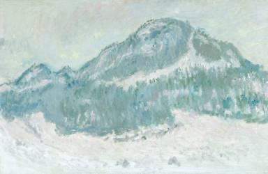 Le Mont Kolsaas en Norvège (Monet Claude) - Muzeo.com