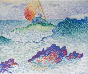 Le naufrage (Cross Henri-Edmond) - Muzeo.com