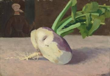 Le navet (Redon Odilon) - Muzeo.com