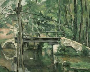 Le Pont de Maincy, près de Melun (Cézanne Paul) - Muzeo.com