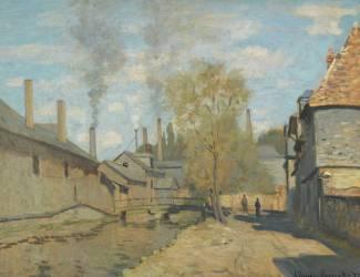 The stream of Robec , Rouen (Monet Claude) - Muzeo.com