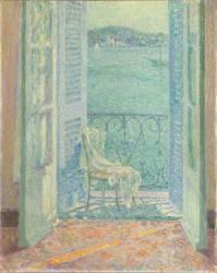 Le soleil dans la maison (Henri Le Sidaner) - Muzeo.com