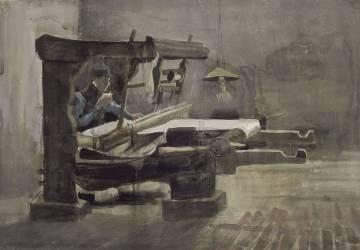 The Weaver (Van Gogh Vincent) - Muzeo.com