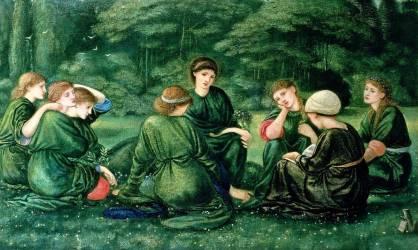 Green Summer (Burne-Jones Edward) - Muzeo.com