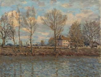 L'Île de la Grande Jatte, Neuilly sur Seine (Sisley Alfred) - Muzeo.com