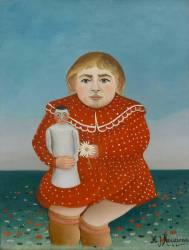 L'enfant à la poupée (Le Douanier Rousseau) - Muzeo.com