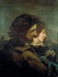 Les Amants dans la campagne (Gustave Courbet) - Muzeo.com