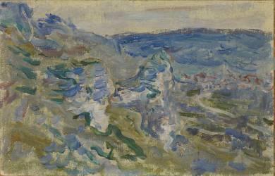 Les côteaux près de Vétheuil (Monet Claude) - Muzeo.com