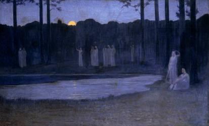 Les Chants de la nuit (Alphonse Osbert) - Muzeo.com