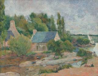 Les Lavandières à Pont-Aven (Gauguin Paul) - Muzeo.com