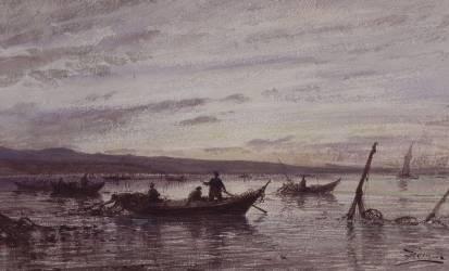 Les pêcheurs de Martigues (Ziem Félix) - Muzeo.com