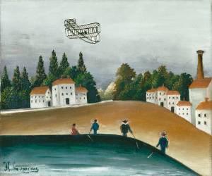 Les Pêcheurs à la ligne (Le Douanier Rousseau) - Muzeo.com