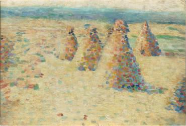 Les villottes, petites meules en Normandie (Angrand Charles) - Muzeo.com