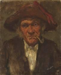 L'homme à la pipe (Whistler James Abbott McNeill) - Muzeo.com