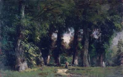 Lisière de forêt (Ziem Félix) - Muzeo.com