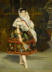 Lola de Valence, danseuse espagnole (Manet Edouard) - Muzeo.com