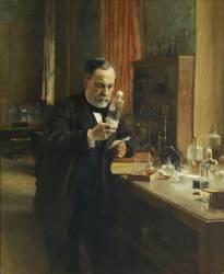 Louis Pasteur (1822-1895), chimiste et biologiste français (Edelfelt Albert Gustaf...) - Muzeo.com