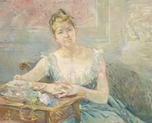 Louise Riesener (1860-1944),fille du peintre Léon Riesener (Morisot Berthe) - Muzeo.com